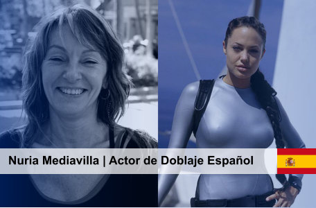 Actor de Doblaje Español Nuria Mediavilla